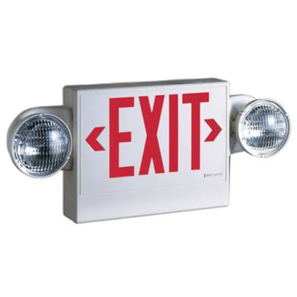 Combination Emergency Light & Exit Signs