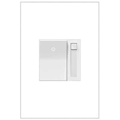 Legrand ADPD453LW2 1-Pole 3-Way 2-Wire Dimmer Switch White Adorne ...