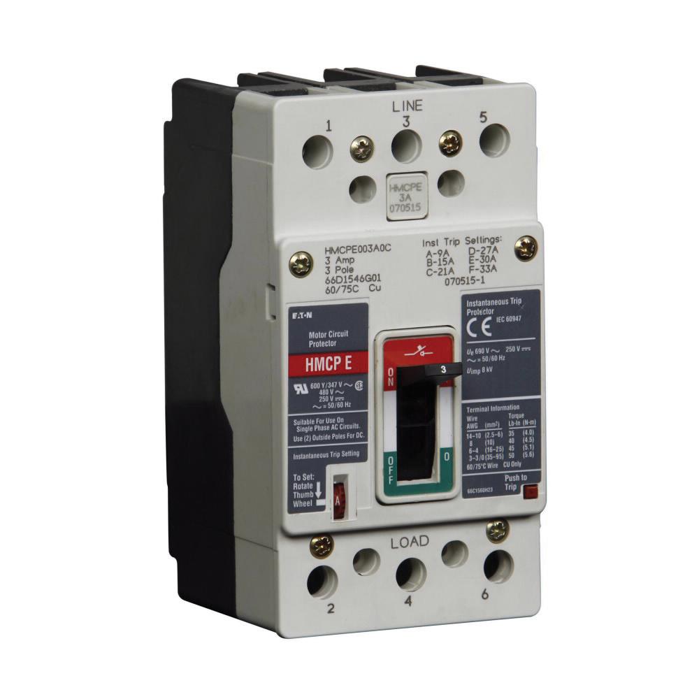 Eaton HMCPE050K2C Panel Mount C Series Type HMCPE Molded Case Circuit on