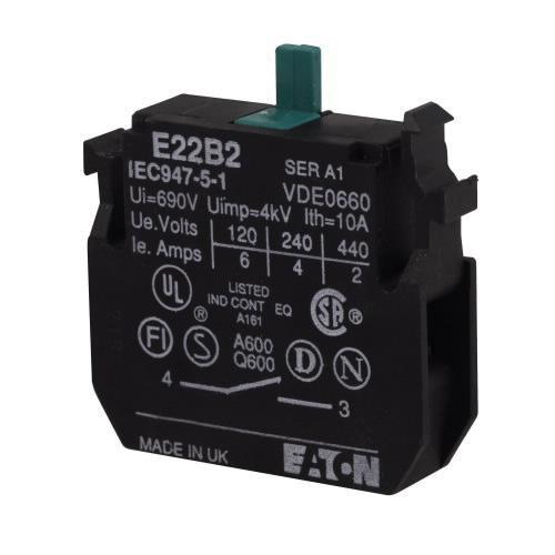 Eaton E22B2 Contact Block 1 NO
