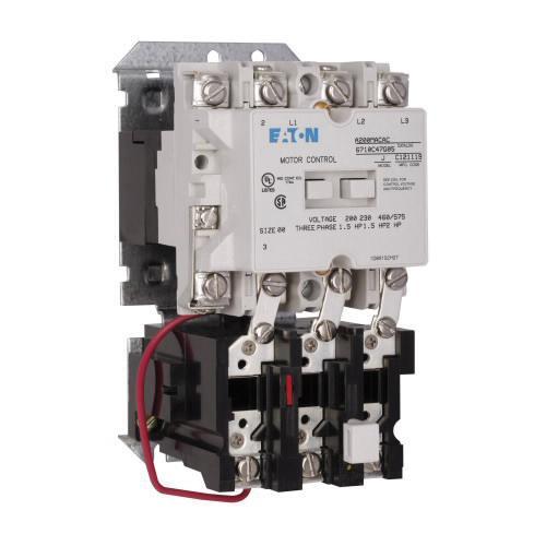 eaton a200macb 3-pole a200 series type b non-reversing combination full voltage  motor