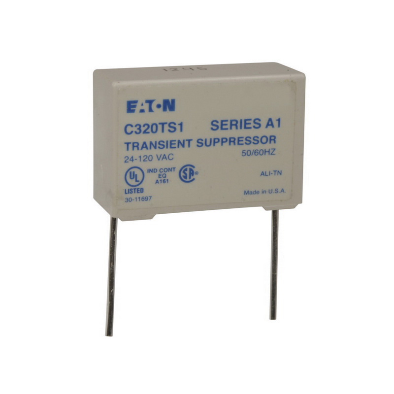 Eaton C320TS1 Transient Suppressor Kit Use With NEMA Sizes 00-2 IEC on lighting contactor, electrical contactor, 3 phase contactor,
