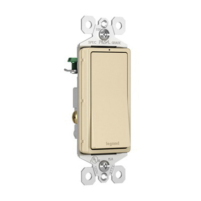 P & Seymour TM870-ISL 120/277-Volt AC 15-Amp 1-Pole ... Ac Lighted Switch Wiring on