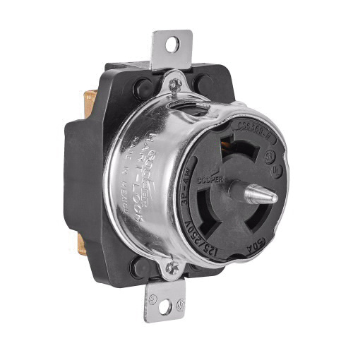 Cooper Wiring Device CS6369 4-Wire 3-Pole Non-NEMA Single Industrial on