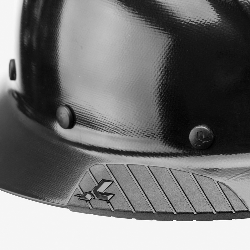 Lift Safety HDF-15NG Full Brim Hard Hat 6-Point Ratchet Fiber Reinforced  Resin Natural Dax