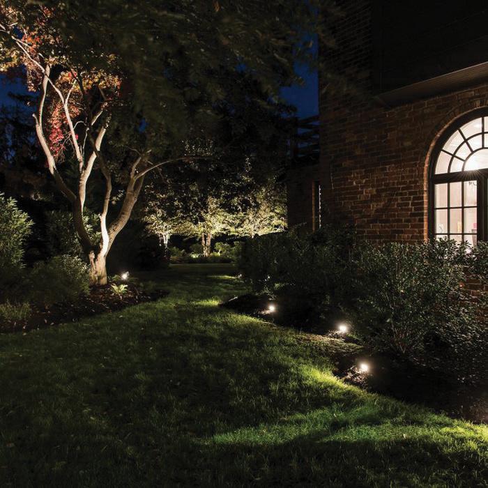 Wac Lighting 2081 30bs 1 Light Landscape Recessed Inground