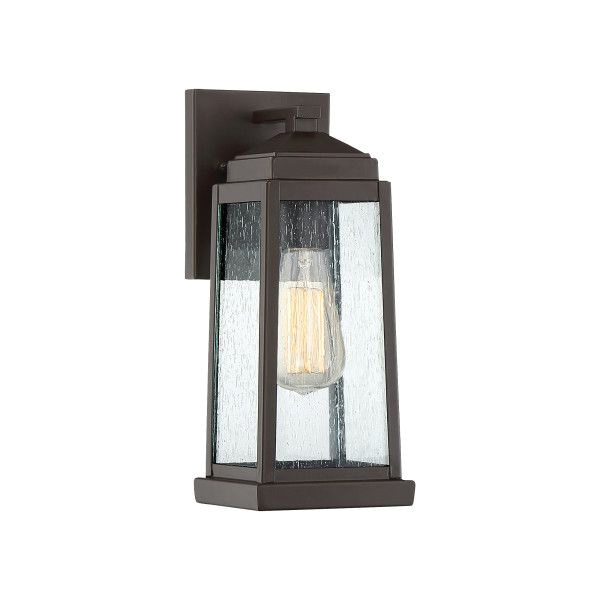 Quoizel Lighting RNL8405WT 1-Light Wall Lantern 100-Watt