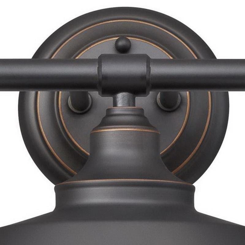 Westinghouse Lighting 6343400 3 Light Indoor Wall Fixture 60 Watt Oil Rubbed Bronze Iron Hill