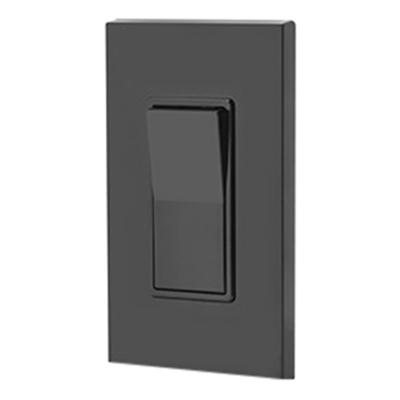 Leviton 5601-2E 120/277-Volt AC 15-Amp 1-Pole Residential Grade Rocker AC  Quiet Switch Black Decora®