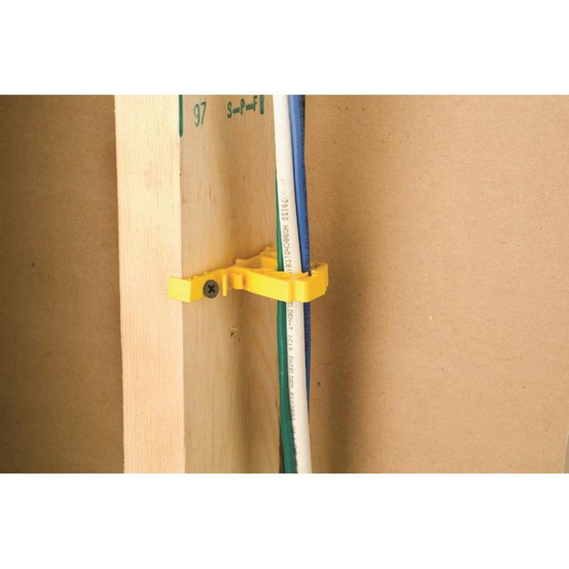 Erico CG4 Yellow Plain Polypropylene Non-Metallic Cable Gripper ...