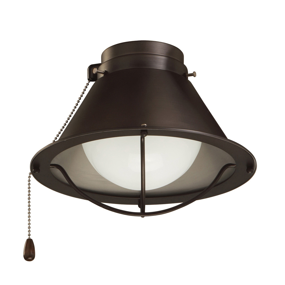 Emerson Lk46orb Cage Ceiling Fan Light Kit 1 Light 13 Watt Oil Rubbed Bronze Seaside