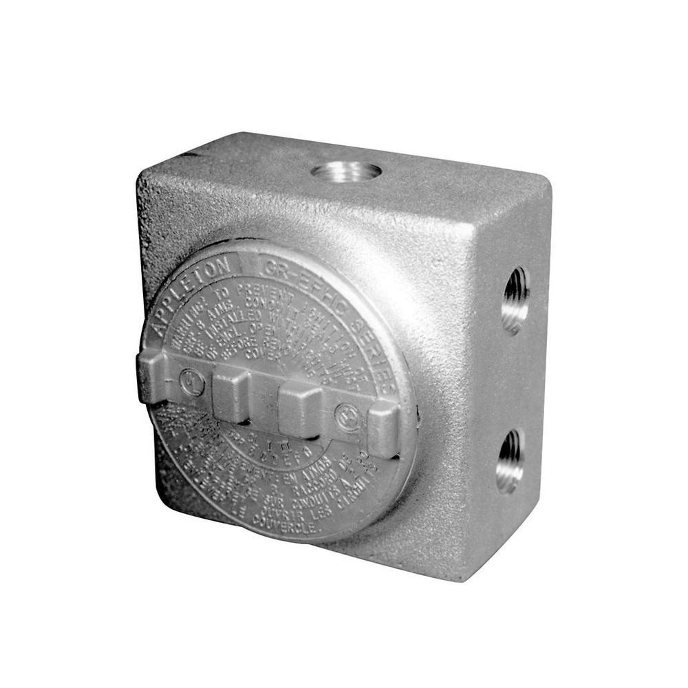 Appleton GUEB7-100AN4 Copper Free Aluminum Conduit Outlet Box With ...