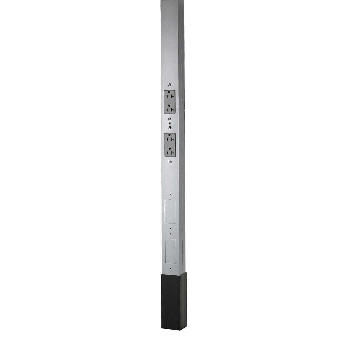 Hubbell-Wiring HBLPP10A Three Service Pole 10-ft 2-Inch x 2.13-Inch on