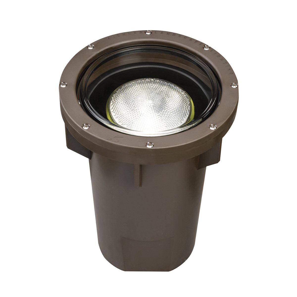 Kichler 15295az 1 Light In Ground 150 Watt 120 Volt Architectural Bronze
