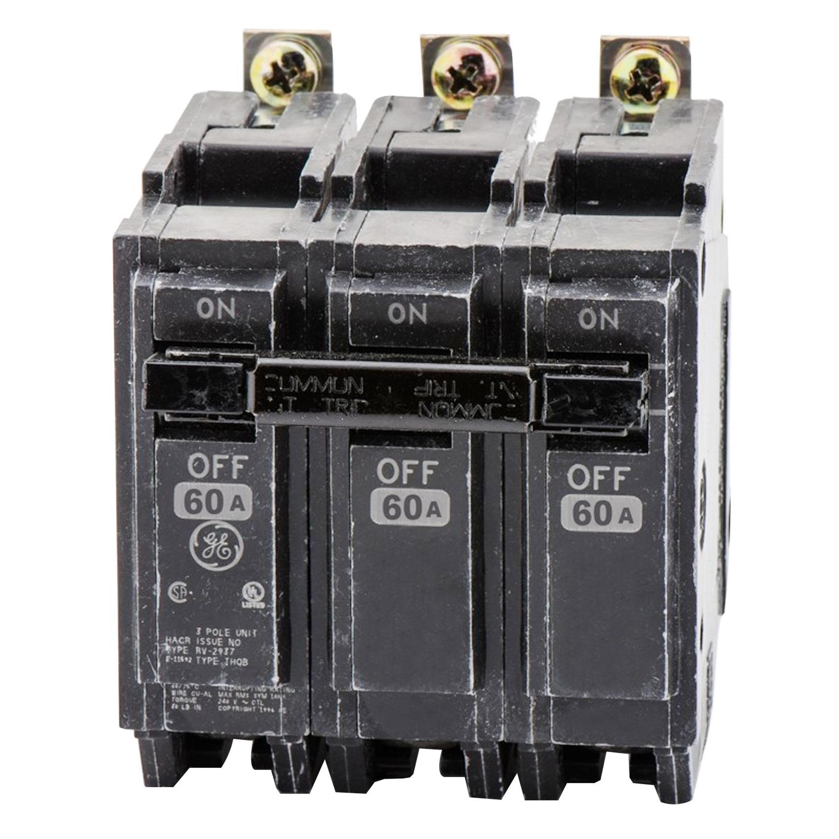 Q Line Miniature Circuit Breakers Wiring Diagram And Ebooks Breaker Ge Industrial Thqb32060 Bolt On Mount Type Thqb Air Abb