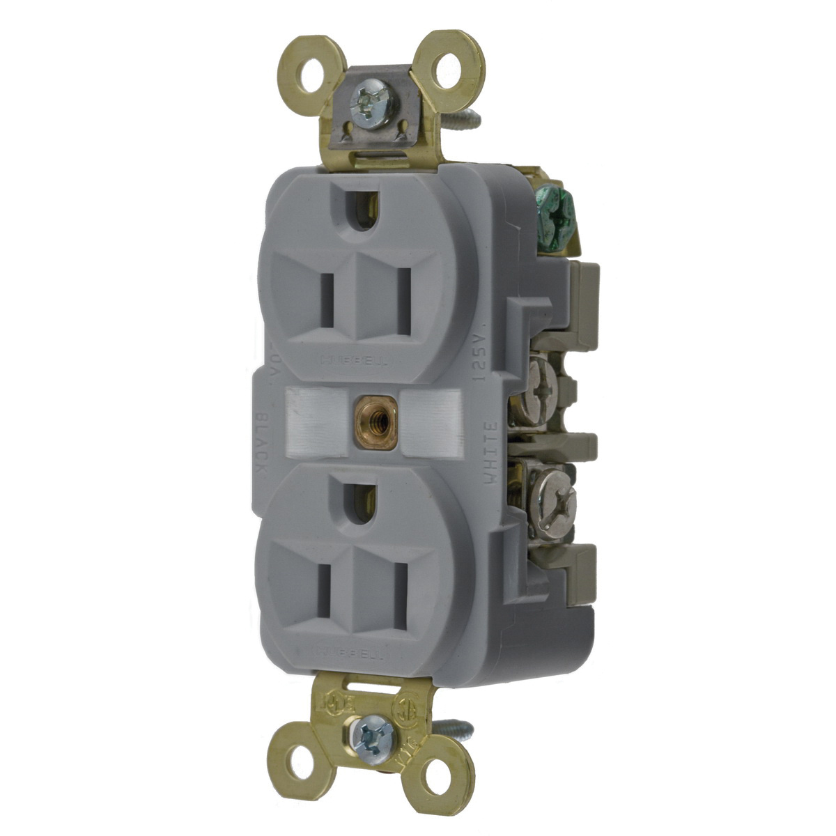 Hubbell-Wiring HBL5262GY Industrial/Specification Grade Extra Heavy-Duty on