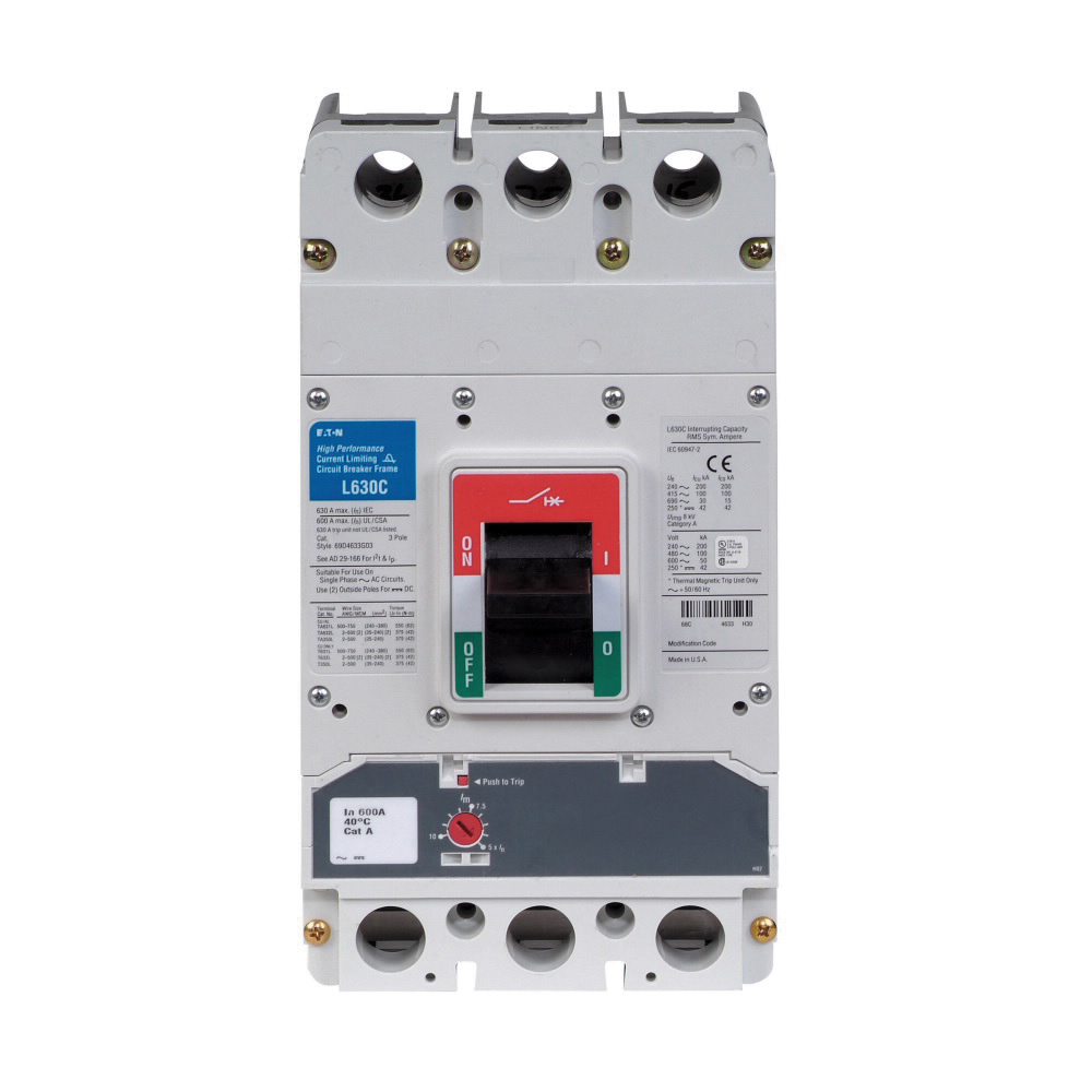 Circuit Breaker Eaton Faz Miniature Breakers Lge Fag Type Molded Case Pole Amp Volt 1000x1000