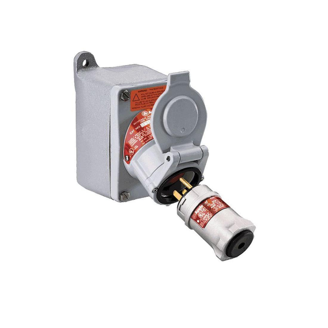 Appleton Efs175 2023 1 Gang Dead End Pin And Sleeve Receptacle With Ac Wiring Mounting