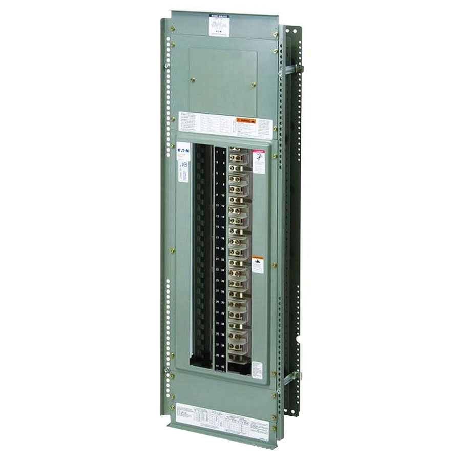 Eaton Prl1a1225x42c 1 Phase 3 Wire Feed Thru Panelboard Interior 42 Wiring Panel Board Circuits 225