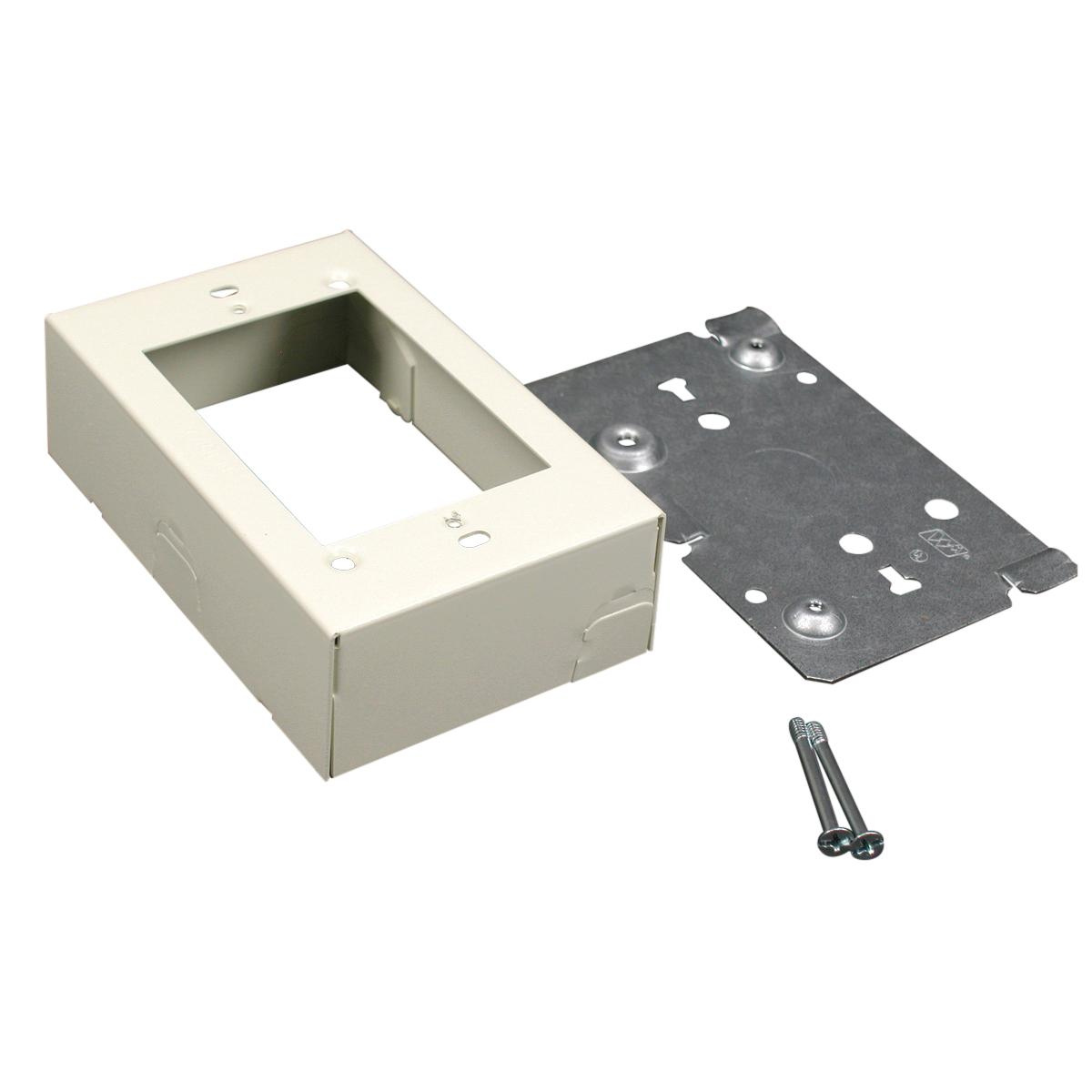 Wiremold V5741 Scuffcoat™ Steel 1-Gang 1-Channel Switch And ...