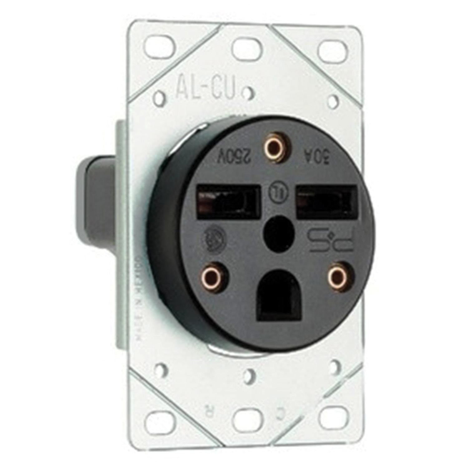 Wiring A 50 Amp Nema 6 50p Plug Car Diagrams Explained Pass Seymour 3804 Straight Blade Power Outlet Receptacle Rh Usesi Com