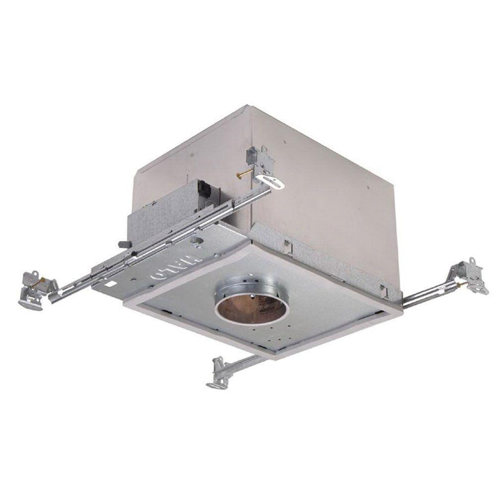 Halo H38lvicat Small Aperture Low Voltage Ic Air Tight 3 Inch Recessed Housing 120 Volt Lamp Round