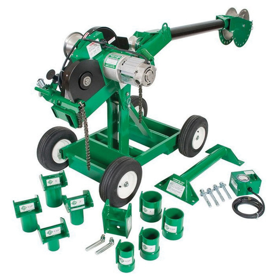 Greenlee 6004 20 Amp Double Braided Composite Rope Cable Puller ...