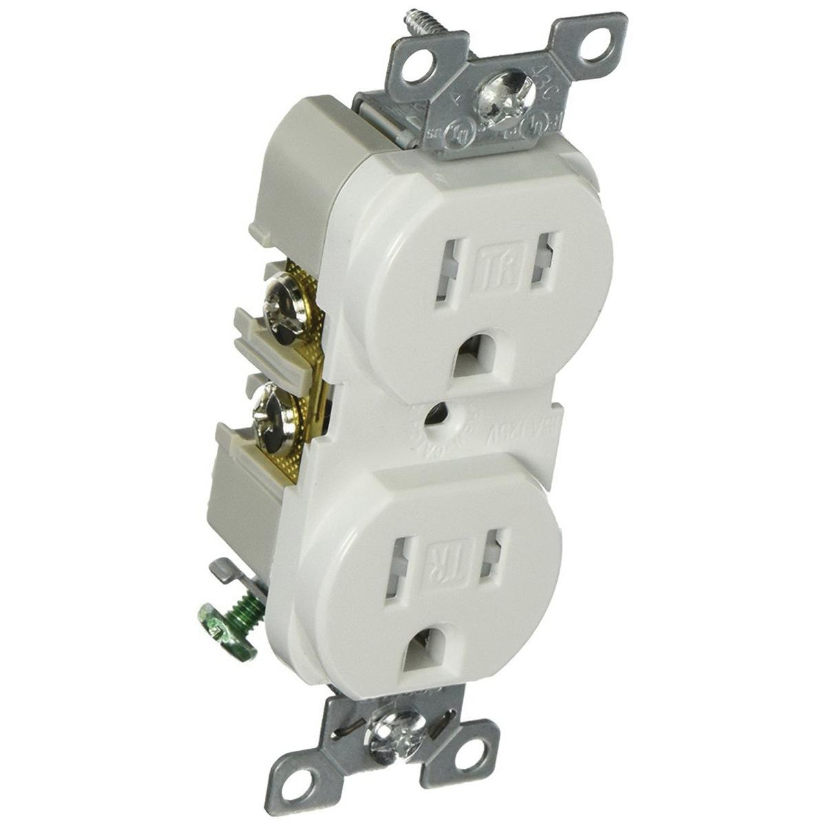 Cooper Wiring Device TRBR15W-BXSP Commercial Grade Tamper ... on