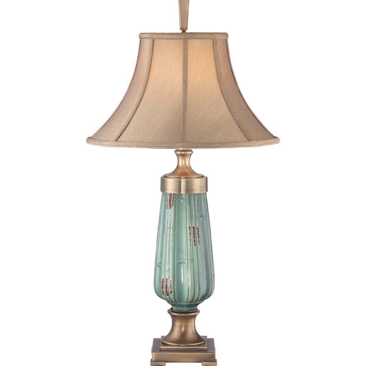 Quoizel Lighting Ckme1723t 1 Light Portable Table Lamp 100 Watt 120