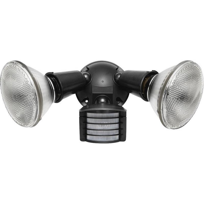 Rab Motion Light Manual: Rab LU300 110-Degree 2-Head Luminator Sensor Flood Light