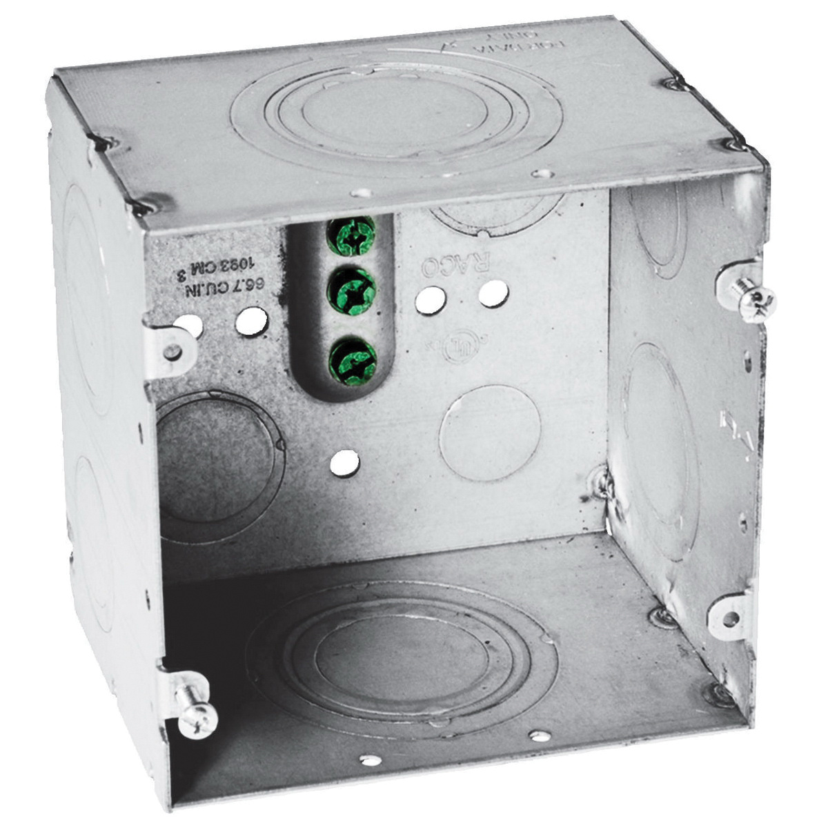 Miraculous Hubbell Wiring Hbl260 Steel Large Capacity Series Wall Box 4 11 16 Wiring 101 Cajosaxxcnl
