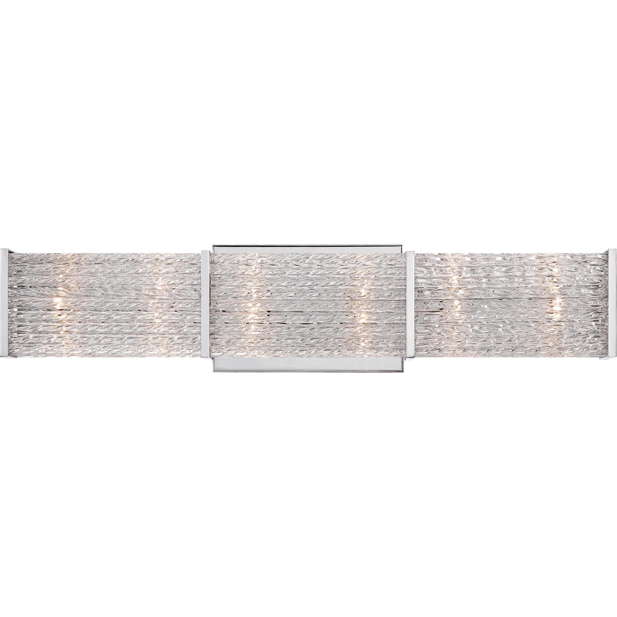 Quoizel Lighting PRN8606C 6-Light Crystal Up/Down Mount Bath Fixture ...