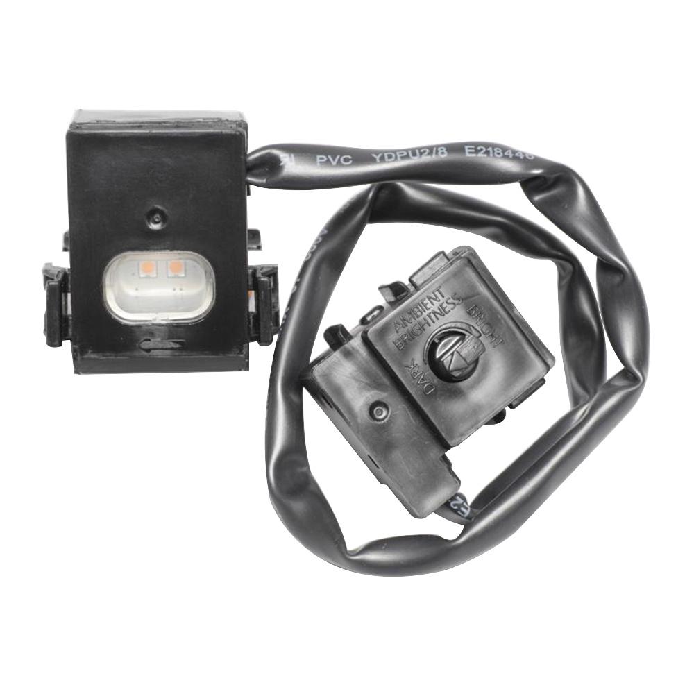 Panasonic Fv-nlvk1 Plastic Plug N Play Led Night Light Black Niteglo U2122
