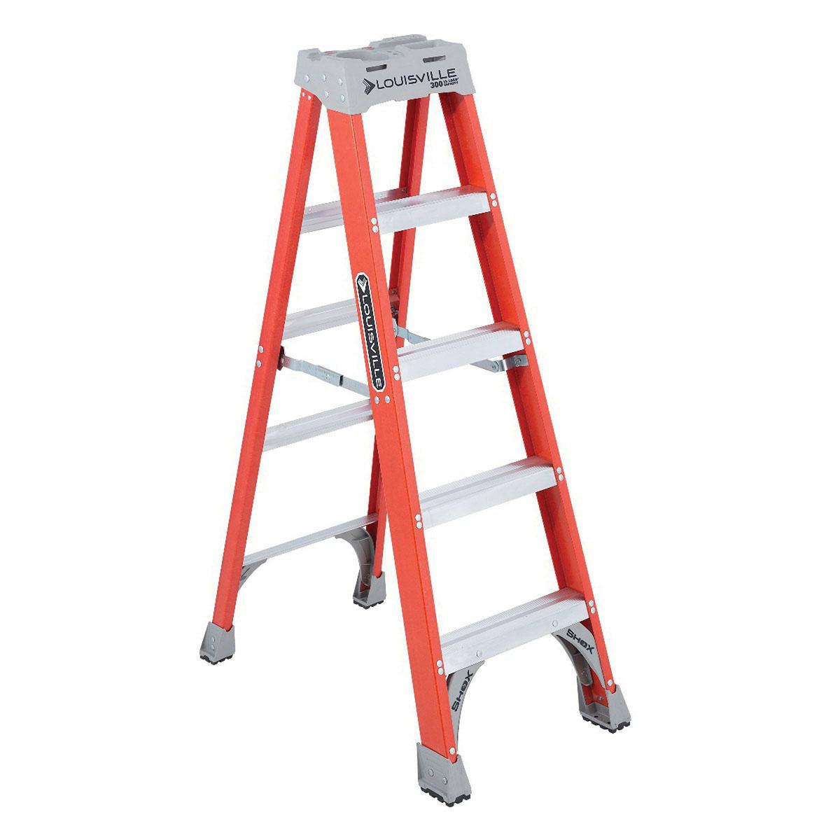 Miraculous Louisville Ladder Fs1505 Fiberglass Fs1500 Series Type Ia Pabps2019 Chair Design Images Pabps2019Com