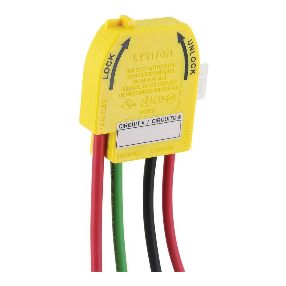 Leviton M3wsw St Polycarbonate Housing Solid Brass Contact Wiring Ac Receptacle Module 347 Volt 20 Amp
