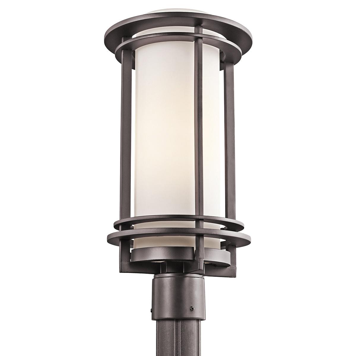 Kichler 49349az outdoor post mount light 150 watt 120 volt ac post kichler 49349az outdoor post mount light 150 watt 120 volt ac post mount pacific edge aloadofball Choice Image
