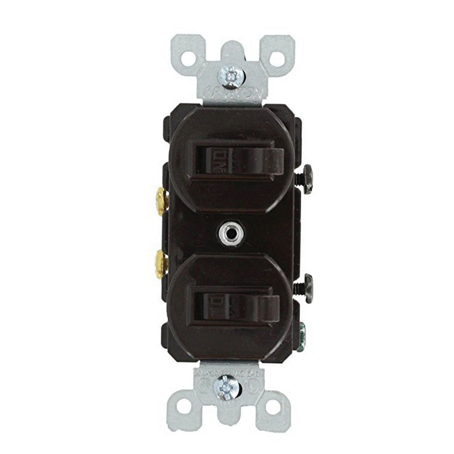 Rocker Switch Wiring Diagram Va Simple Options Leviton 5334 1 Pole 120 277 Volt Ac Commercial Grade Duplex On Off Toggle