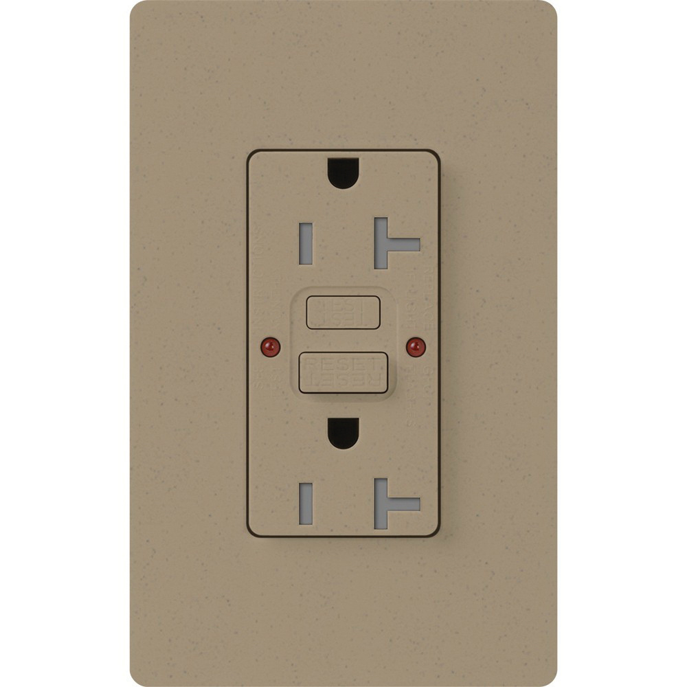 Lutron Scr 20 Gfst Ms Tamper Resistant Self Test Gfci Receptacle Ac Wiring
