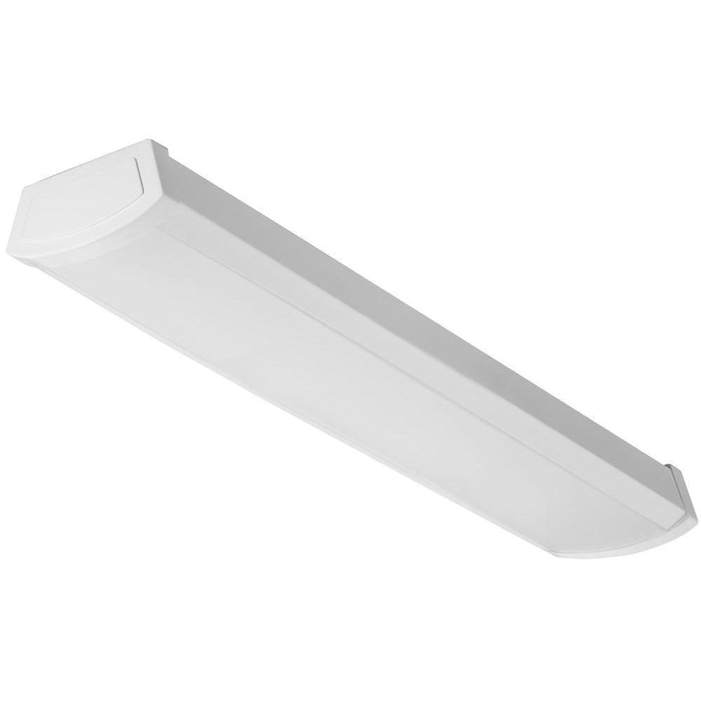 Lithonia Lighting Fmlwl 24 840 Led Wraparound Fixture 20 Watt 120 Volt