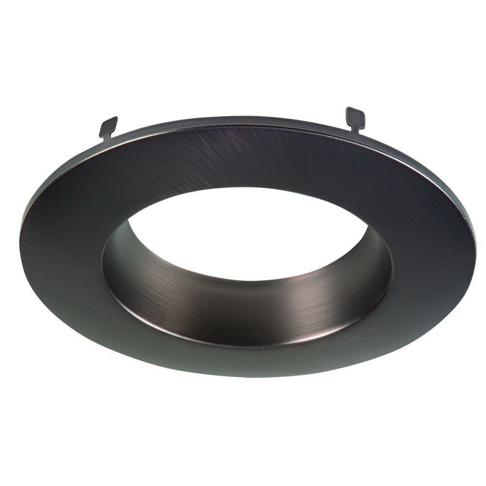 Halo Rl4trmtbz 4 Inch Led Recessed Retrofit Baffle Trim Ring Tuscan Bronze