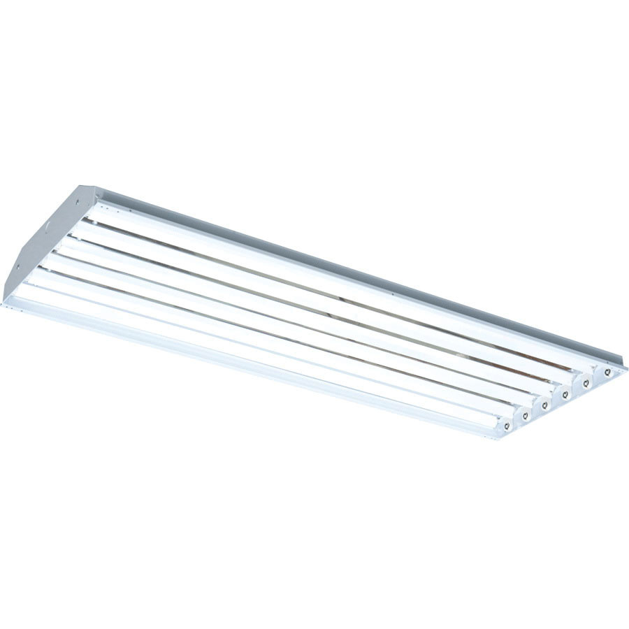 Rab RB6T5 6-Light Ceiling/Surface Mount Fluorescent High Bay Fixture ...