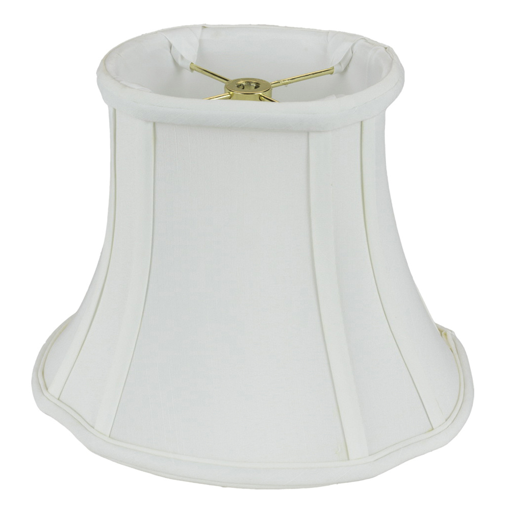 Monter Lite 114 6 19 Wh Shantung Softback French Oval Lamp