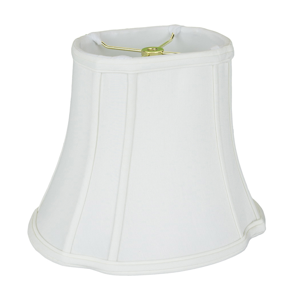 7 inch lamp shade softback lamp images are for illustration purposes only and may not be an exact representation of the product monter lite 121415ow anna softback oval cut corner lamp shade