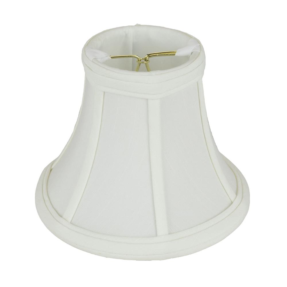 Monter Lite 148 6 18 Wh Shantung Softback Bell Lamp Shade