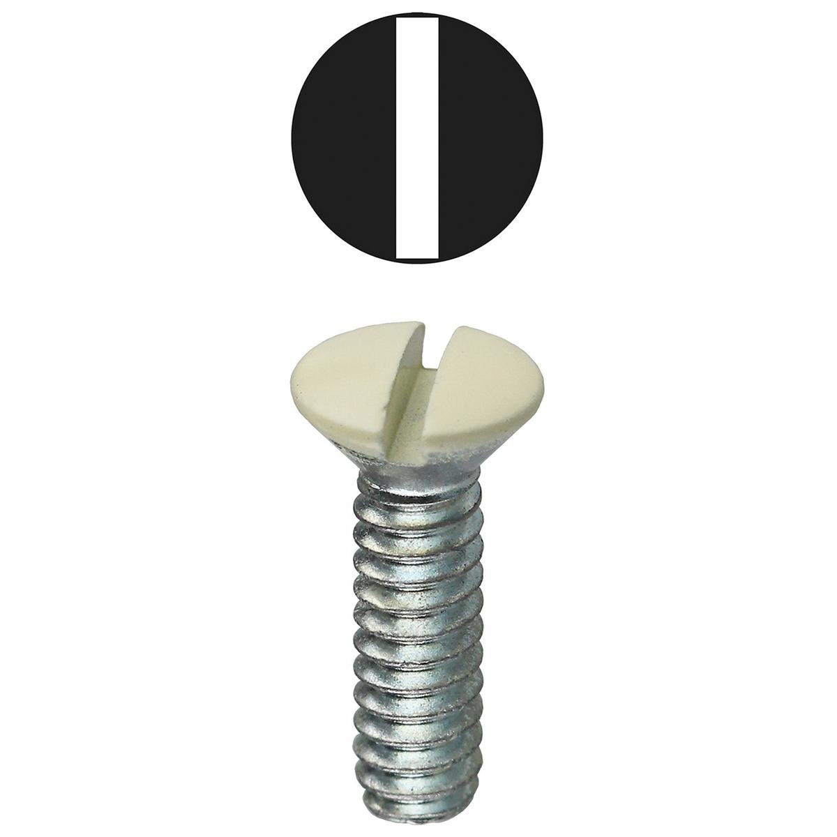 100 Count Asstd # 6 Oval Head Stainless Steel Screws