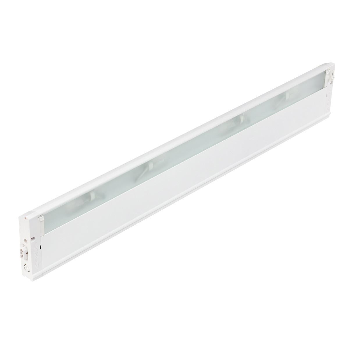 Kichler 4U12X30WHT 4U Series Under Cabinet Light Fixture 18 Watt 12 Volt 30  Inch Textured White