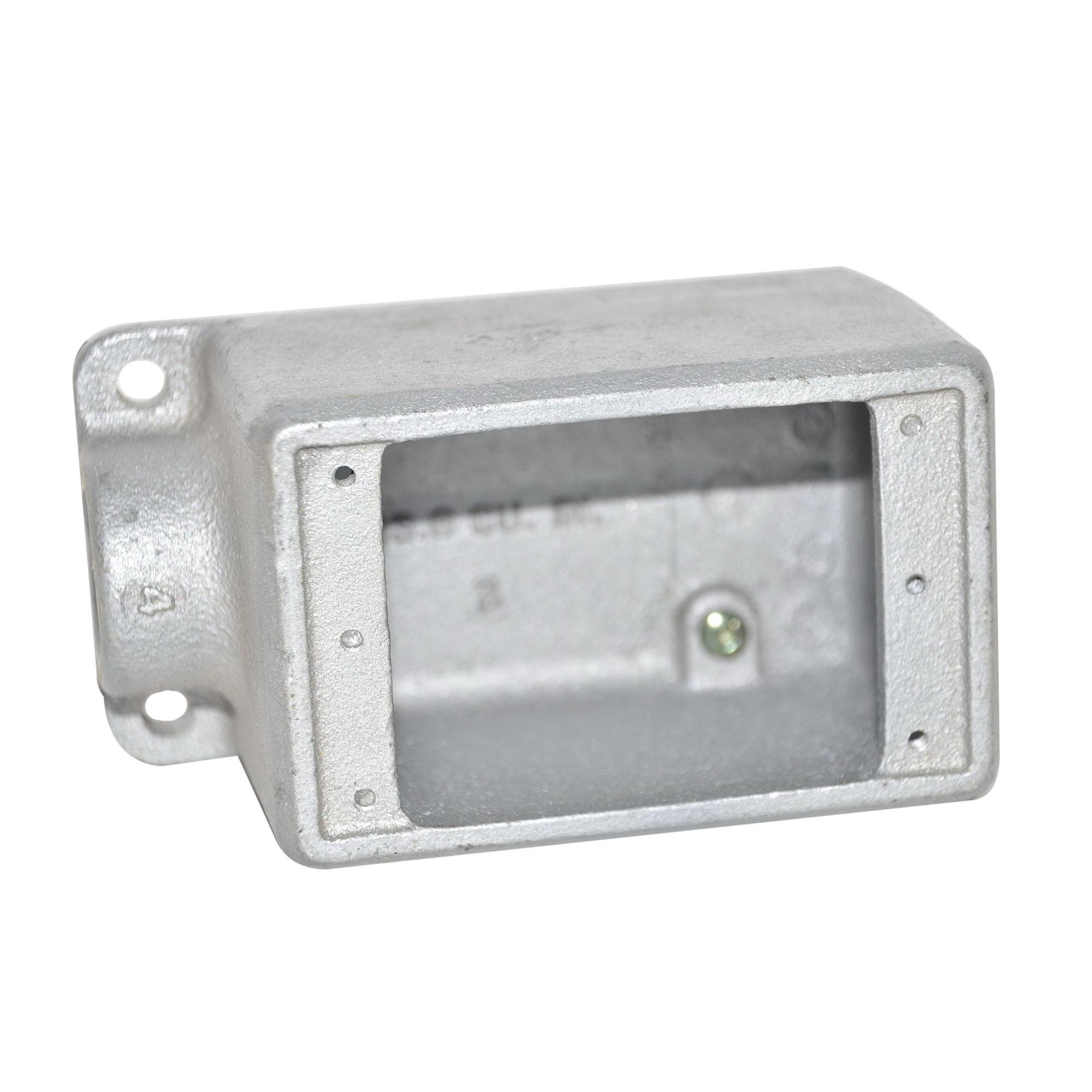 Crouse Hinds Fs2 Electrogalvanized Feraloy 174 Iron Alloy 1