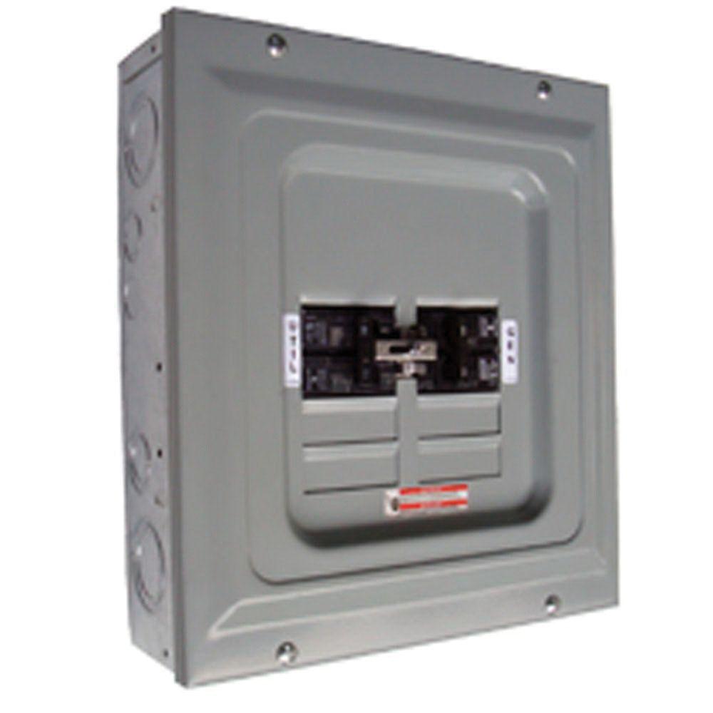 Generac 6333 2 Pole Manual Transfer Switch 60 Amp 125/250 Volt ...