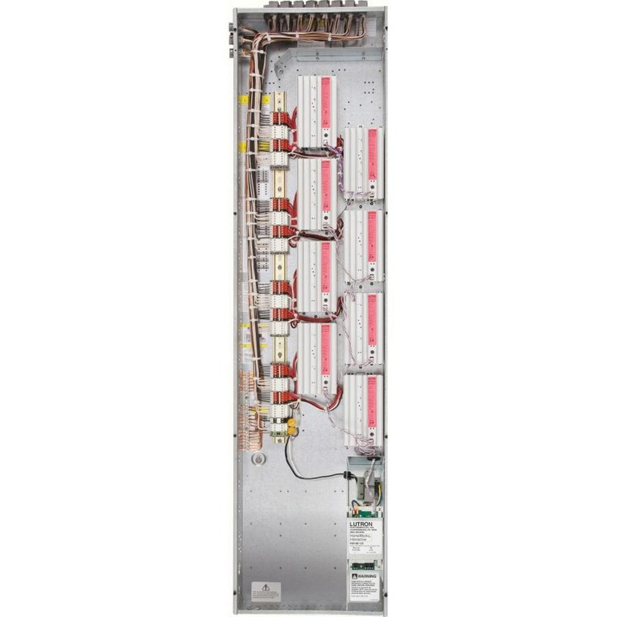 Lutron HWI-PNL-8-59 Surface/Flush Mount Eight Module Remote Power ...