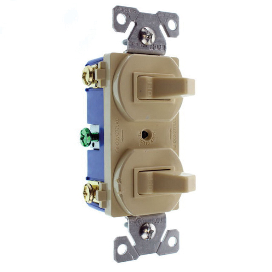 cooper wiring device 271v box 1 pole 120 277 volt ac commercial rh walterswholesale com Toggle Switch Electrical Wiring On Off Toggle Switch Wiring
